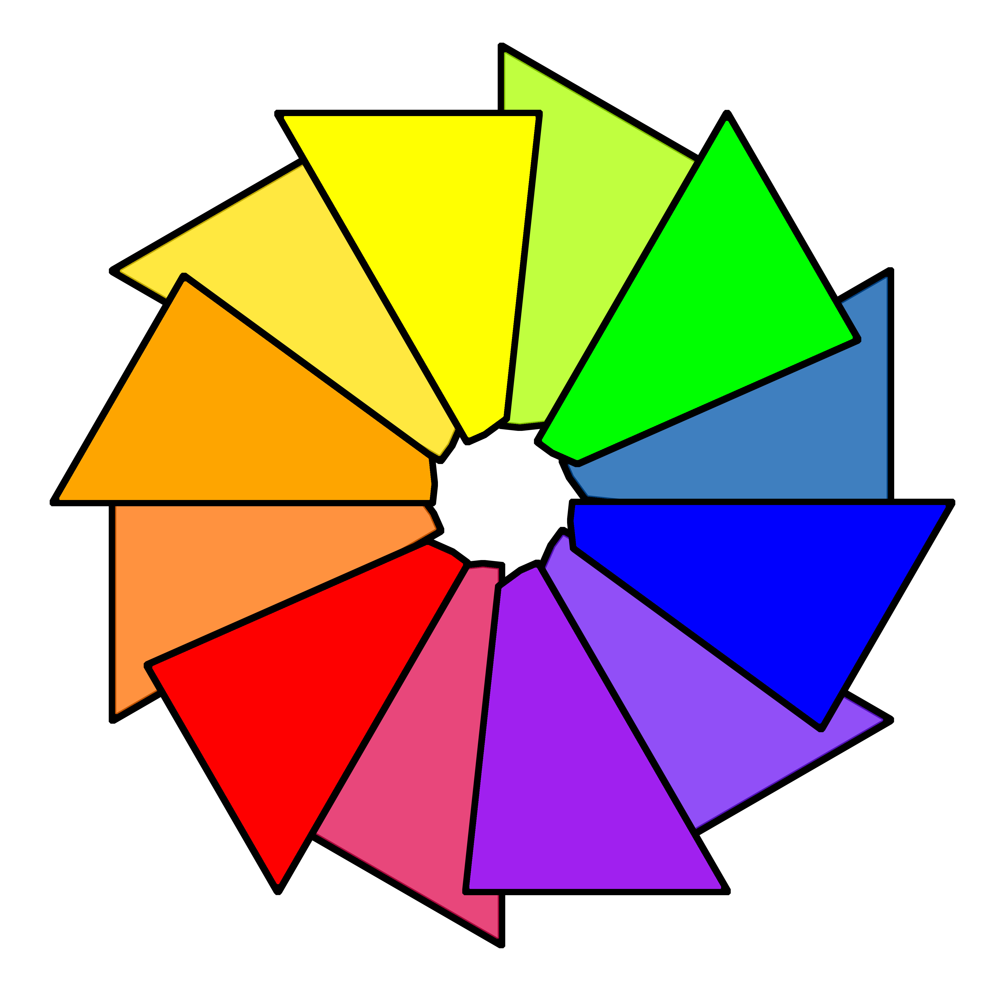 Interior design - Color wheel interior design ...