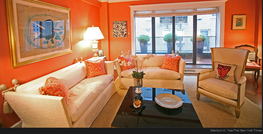 January 2010 for Living room ideas orange