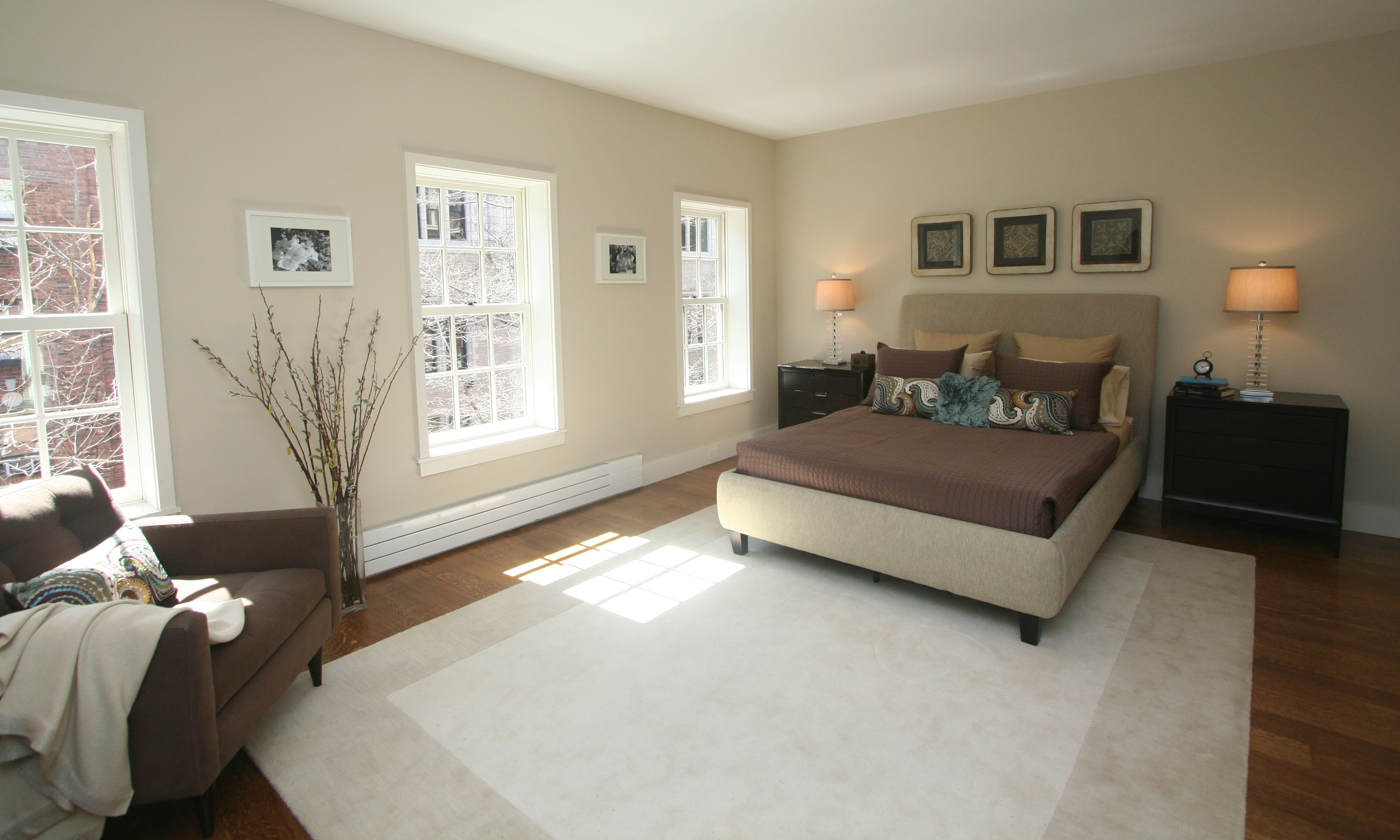 Taking home staging to the next level lifestyle merchandising Master bedroom home staging